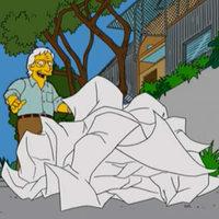 Frank Gehry koncerttermet tervez (Simpsons)