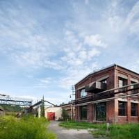 Műteremház a(z egykori) szénbányában