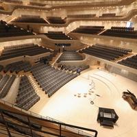 Elbphilharmonie - zokognak a zenészek