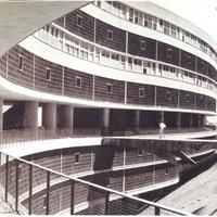 Pedregulho lakótömb, Rio de Janeiro, 1947