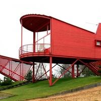 Vörös vendégházak