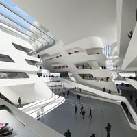 Zaha Hadid egyetemi könyvtára Bécsben - ma nyílik (film)
