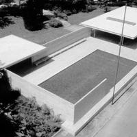 A Barcelona pavilon (Mies Van der Rohe, 1929)