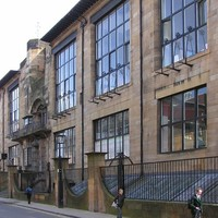 Glasgow, Művészeti Főiskola - Ch. R. Mackintosh