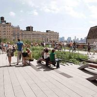 Az isteni csend pillanata - High Line, New York