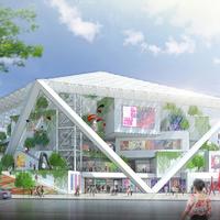 Shigeru Ban: múzeum terve, Tainan