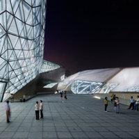 Zaha Hadid: operaház, Guangzhou (magyarul Kanton), Kína