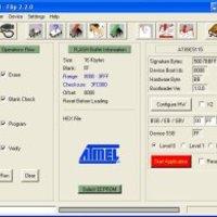 Atmel FLIP használata egyszerűen illetve Bascom-AVR keretrendszer alatt