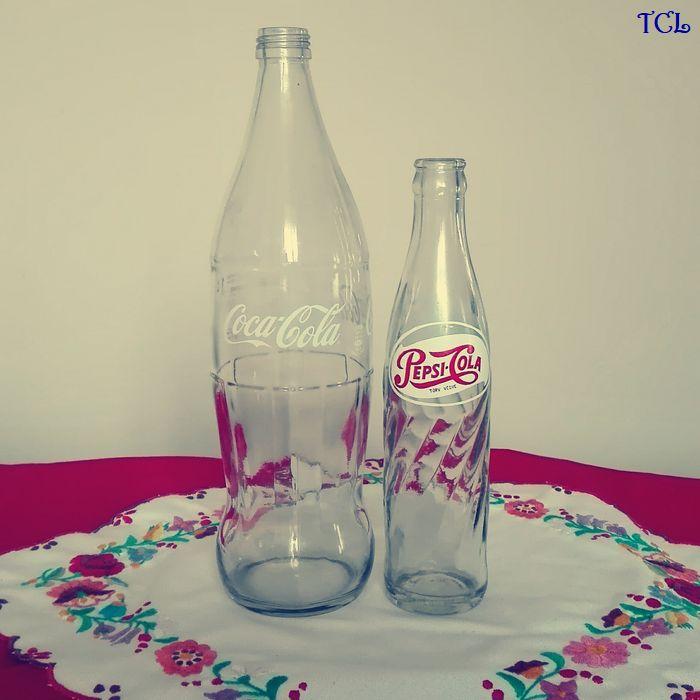 Retró kólásüvegek az (h)őskorból