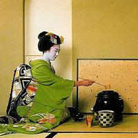Tea japán módra