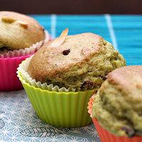 Macchás-étcsokis muffin