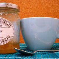 Ötórai tea gyömbérlekvárral