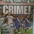 A New York Post mai címlapja