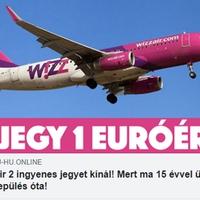 Szinte ingyen repülőjegy?