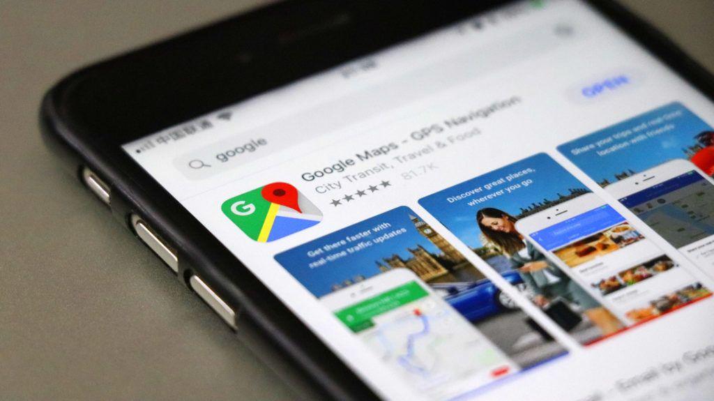 Kiterjesztett valóság és a Google térkép