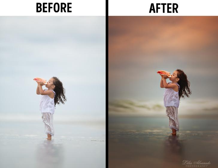 Photoshop elött és után