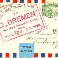 GyártásTrend cikk - Az SS Bremen postarepülőgépei