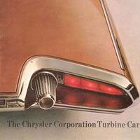 A Chrysler Turbine Car