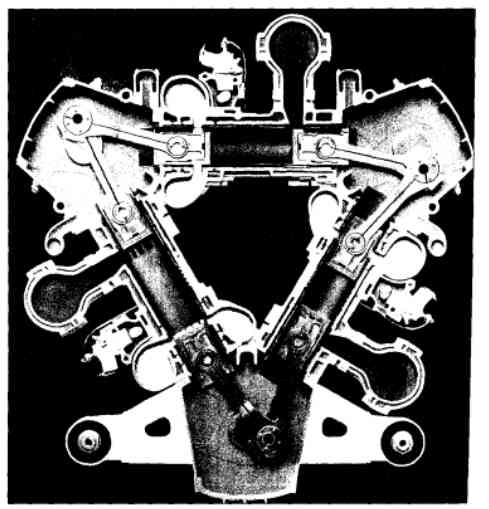 Ellendugattyús kétütemű dízelmotor