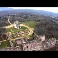 Erre jó a drón: Vizslatalálkozót videózni a magasból