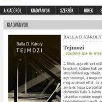 A Magvető honlapján