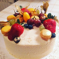 Narancsos-fehércsokis torta