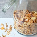 Papaya-lime granola