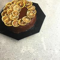 Keserédes narancsos csokitorta