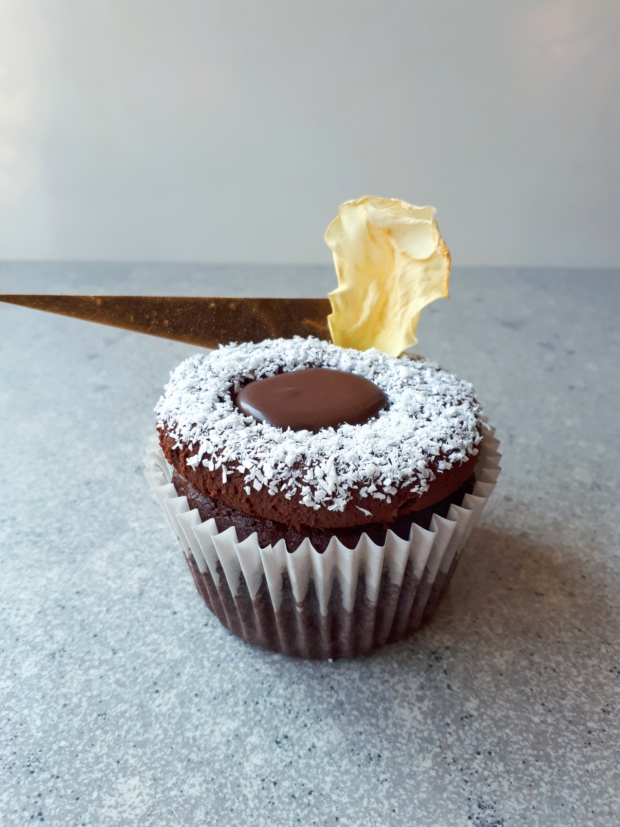 Dekadens trüffel cupcake