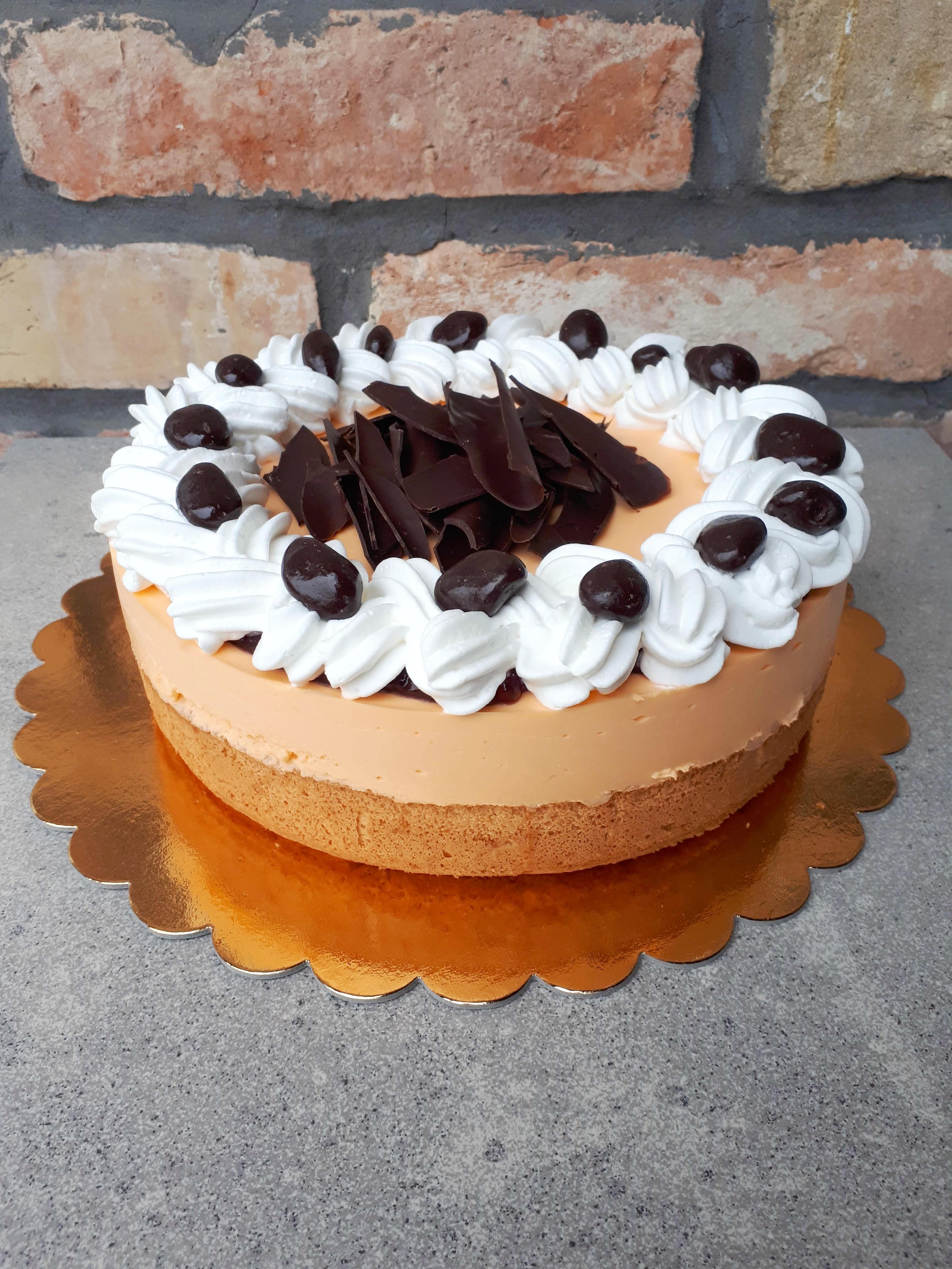 Tejszínes vanília torta II.