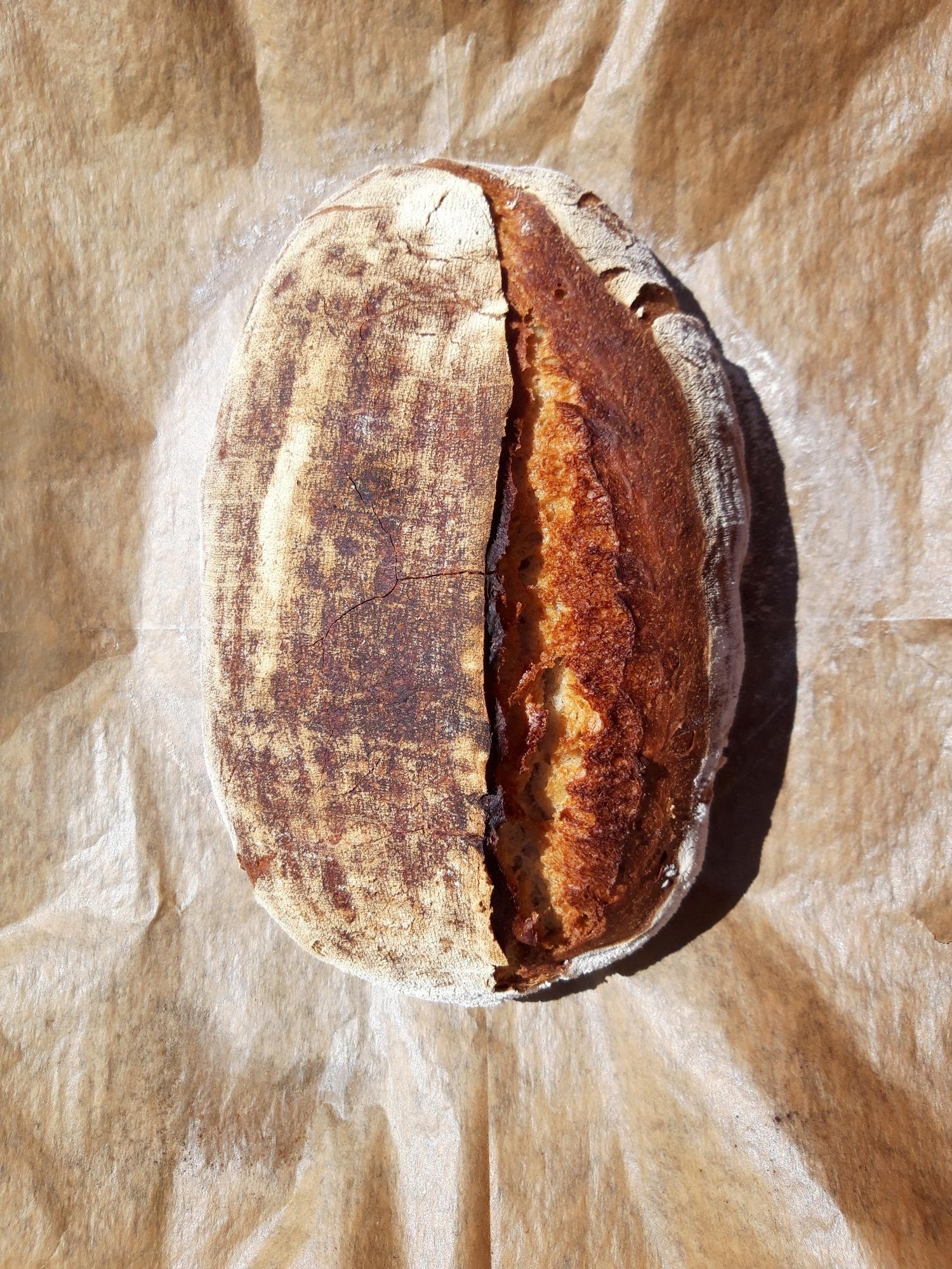 Egyszerű kovászos kenyér