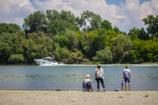 Útvonal ajánló: A Mosoni-Duna mentén Teker a Család