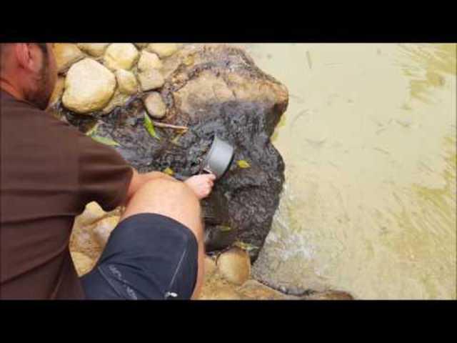 Gerilla kagyló főzés bringatúrán