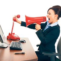 Az ügyintéző főleg elégedetlen ügyfelekkel kommunikál - így kell profin csinálni!