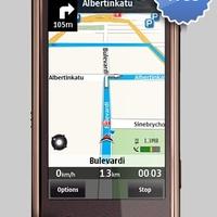Ingyenes Ovi Maps navigációs program Nokia telefonokra