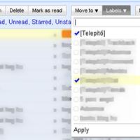 Új gombok a Gmailben