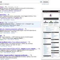 Előnézet a Google keresőben