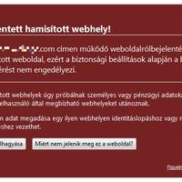 Adathalász weboldalak bejelentése a Google-nek