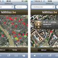 Térképes lakáskereső iPhone-ra és Androidra