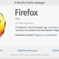 Letölthető a Mozilla Firefox 27.0