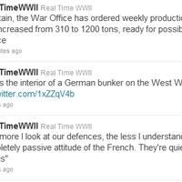 A Twitteren valós időben követhető a második világháború