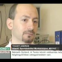 Testépítők étrendje, nyilatkozik Tihanyi András, MDOSZ Sportdietetikai Munkacsoport vezetője
