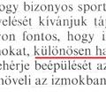 Szteroidok - Így nézett ki az államilag támogatott sporttáplálkozás a 70-es - 80-as években! :)