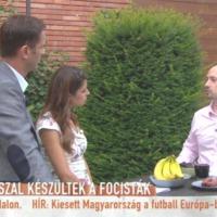 Kolbásszal készült a válogatott az Eb-re - Tihanyi András dietetikus interjú