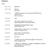 Az étrend és az étrend-kiegészítők szerepe a birkózók sporttáplálkozásában - Konferencia előadás