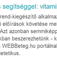 Testedzés segítséggel: vitaminok, protein, kreatin és társai
