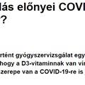 A D-vitamin-pótlás előnyei COVID-19-ben: valós hatás vagy álhír?