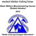 Katonai hegymászási, mentési stb. módszerek kötet