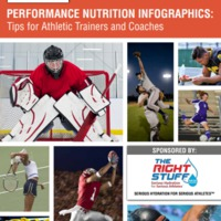 PERFORMANCE NUTRITION INFOGRAPHICS