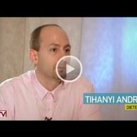 Diéta és bűnbeesés (csaló napok) - Az Életvonal 2016. április 17-ei adása Tihanyi András dietetikussal